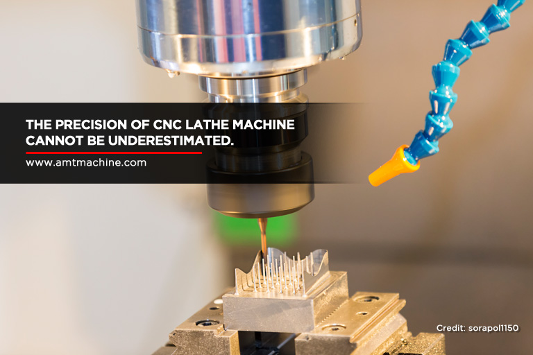 The precision of CNC lathe machine cannot be underestimated.
