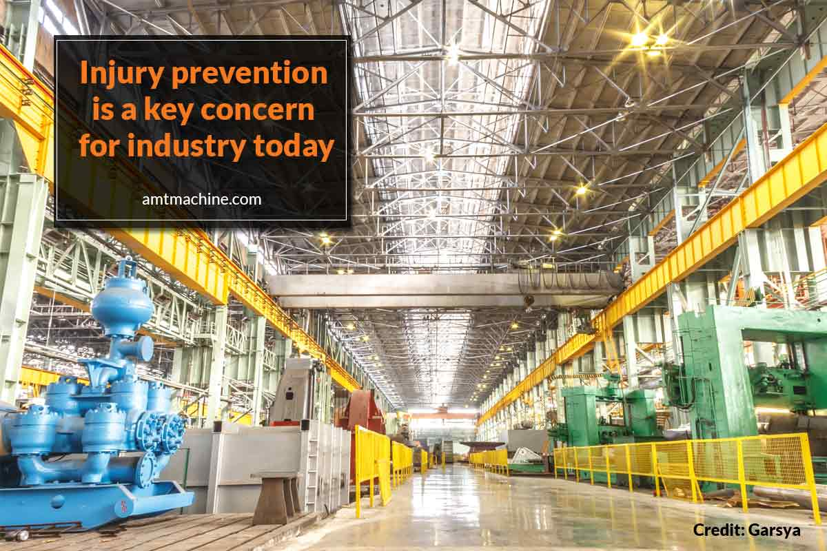 Injury prevention is a key concern for industry today
