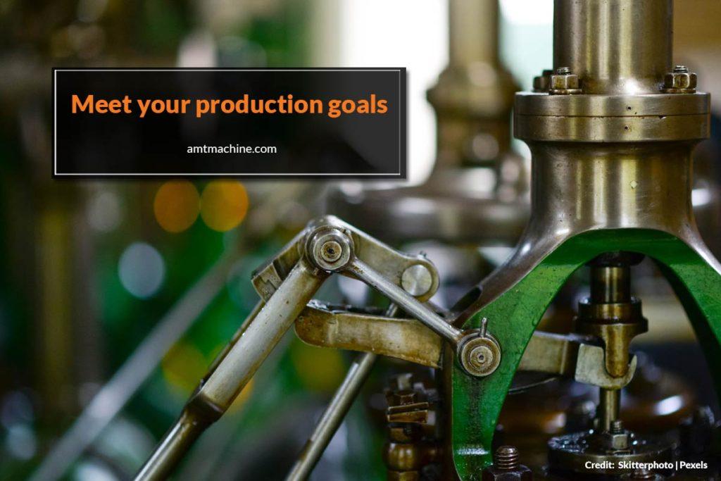 Meet your production goals