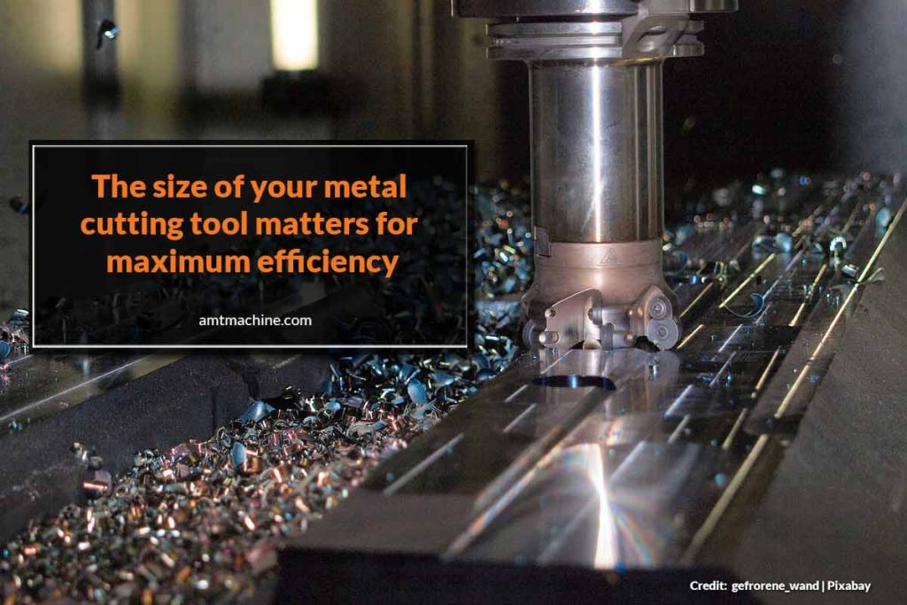 The size of your metal cutting tool matters for maximum efficiency