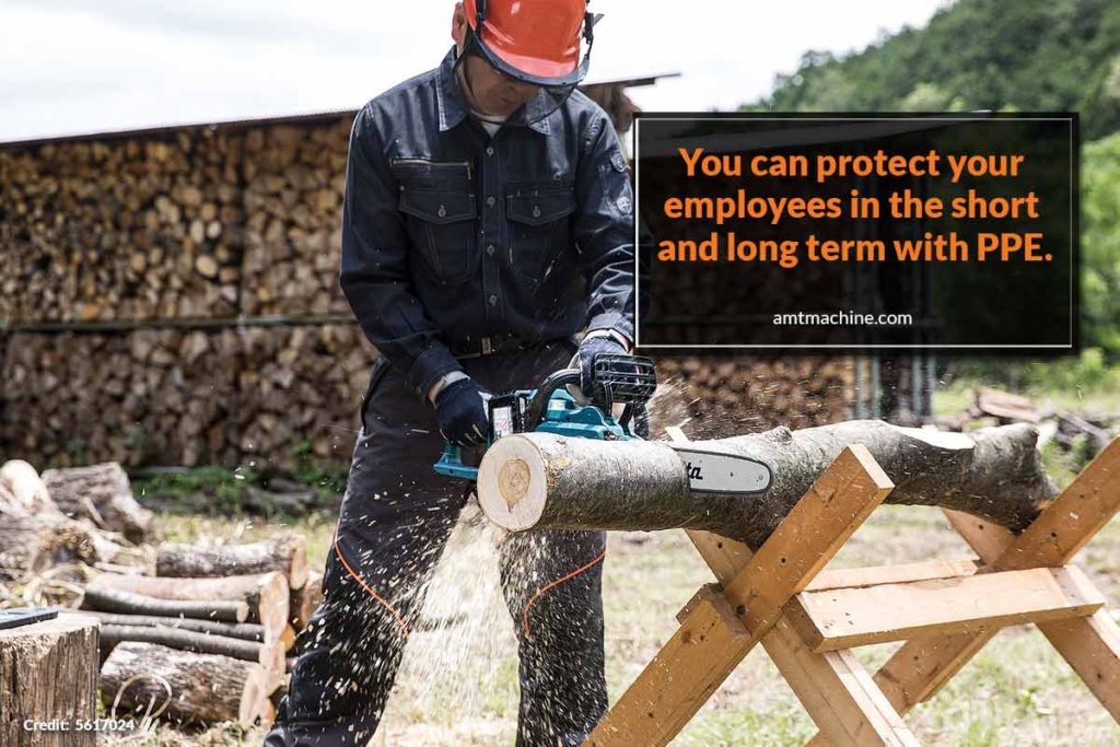 You can protect your employees in the short and long term with PPE